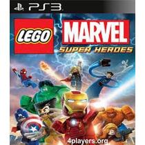 Lego Marvel Super Heroes Ps3 Legendado Pt Br Entrego Agora