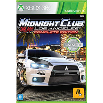 Midnight Club: Los Angeles Complete Ed. - Xbox 360 - S. G.
