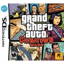 Grand Theft Auto: Chinatown Wars Ds Americano! Raro Lacrado!
