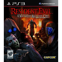 Resident Evil Operation Raccoon City Ps3 [download Digital]