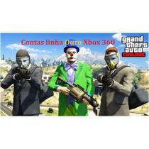Up Na Conta Do Gta V Online Para Xbox 360 Ps3 Xbox One Ps4.