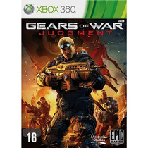 Game Gears Of War Judgment Xbox 360 Frete Grátis