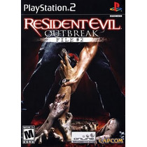 Resident Evil Outbreak File 2 Ps2 Patch Frete Unico