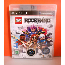 Jogo Lego Rock Band - Playstation 3 - Lacrado