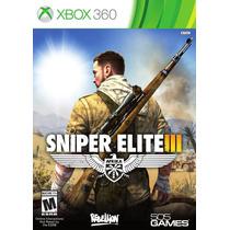 Sniper Elite 3 Afrika Xbox 360 - Pronta Entrega!