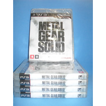 Metal Gear Solid, The Legacy Collection Ps3, Lacrado
