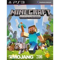 Minecraft Em Portugues , Ps3 , Codigo Psn !!