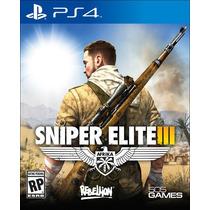 Sniper Elite Iii. 3 Em Português Mídia Física Ps4