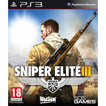 Sniper Elite 3 Ps3 Lançamento !!! Entrega Imediata !!!