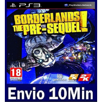Borderlands The Pre Sequel Ps3 Código Psn