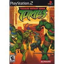 Patch Teenage Mutant Ninja Turtles Ps2 Frete Gratis