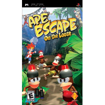 Jogo Ape Escape On The Loose - Psp - Lacrado - P. Entrega