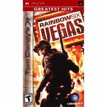 Jogo Rainbow Six Vegas Psp Original Usado