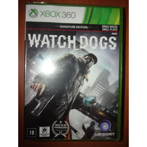 Watch Dogs - Xbox 360 - Signature Edition (em Português)