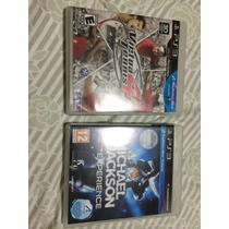 Jogos Ps3 Move - Michael Jackson E Virtua Tennis