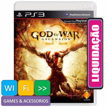 God Of War Ascension Ps3 Em Português Sedex Partir R$ 6,00