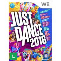 Just Dance 2016 Nintendo Wii Ubisoft - Mídia Física Original