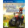 Jogo Novo Lacrado Farming Simulator 14 Para Ps Vita