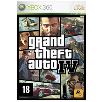 Gta 4 Grand Theft Auto Iv Xbox 360 Original
