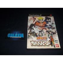 Naruto Original Japonês Bandai - Playstation 2 Ps2