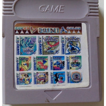 Pokémon Collection Cartucho Com Vário Pokémons Para Gbc/gba!