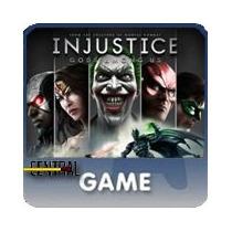 Injustice God Among Us Ps3 Playstation 3 Pt Portugues Br