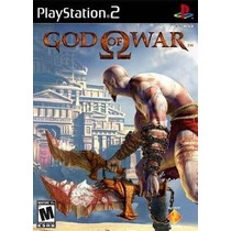God Of War 1 Legendado Ps2 Patch Com Capa E Impressão