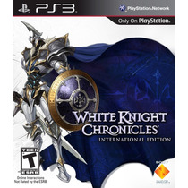 White Knight Chronicles - International Ed., Ps3, Novo!