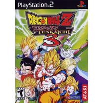 Patch Dragon Ball Z Budokai Tenkaichi 3 Ps2 Frete Gratis