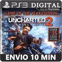 Uncharted 2 Among Thieves Ps3 Psn Mídia Digital Envio Hoje