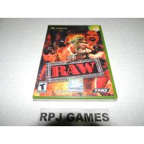Wf Raw Original Lacrada P/ Xbox 1ª Geração - Frete R$ 8