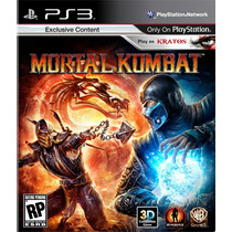 Mortal Kombat 9 Ps3