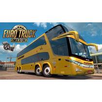 Jogo Simulador Brasileiro De Ônibus Patch Euro Truck 2!