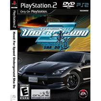 Need For Speed Shado Underground 2 - Play 2 - Frete Gratis.
