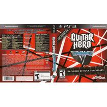 Ps3 - Guitar Hero - Van Halen - Raro - Lacrado