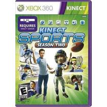 Super Game Kinect Sports Season Two Original Lacrado Leilão
