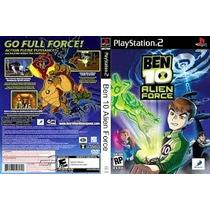 Patche Ben10 Alien Force (gameps2)