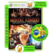Mortal Kombat Komplete Edition Português Mídiafísica Xbox360