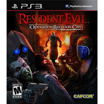 Resident Evil: Operation Raccoon City Ps3 Capcom
