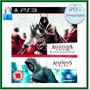 Assassins Creed 1 E 2 Pacote / Psn / Ps3 / Mídia Digital