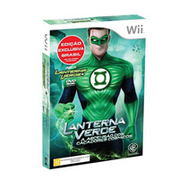 Jogo Lanterna Verde Green Lantern Pra Nintendo Wii + Bônus