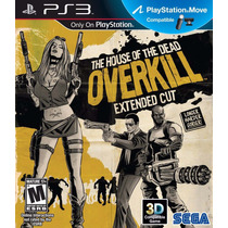 Jogo Ps3 The House Of The Dead Overkill Extended Cut
