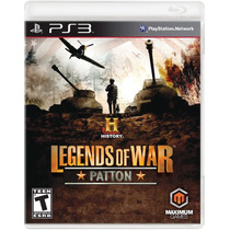 History Legends Of War Patton - Playstation 3 - S. G.