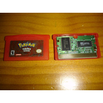 Nintendo Ds Gameboy Advance Pokemon Firered Original