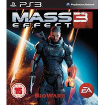Jogo Mass Effect 3 Ps3