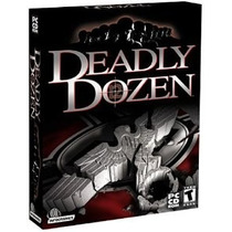 Deadly Dozen Jogo Pc Original Lacrado Raro Game