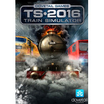 Train Simulator 2016 Lançamento Pc Simulador De Trem