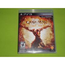 God Of War Ascension (jogo Original Ps3 ) Mídia Física