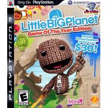 Jogo Ps3 - Little Big Planet Goty - Novo