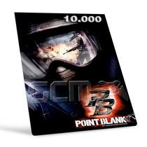 Point Blank - Cartão De 10.000 10k Cash - Preço Imbátivel !
